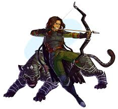 Ranger D D Art My Wifes Beast Conclave Ranger And Her Panther