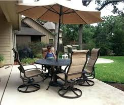 yard art patio patio renaissances dining chairs and a cau dining table from enjoy your outdoor yard art patio