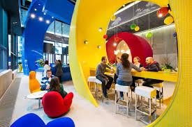 Google office space design Architecture The Designboom Camenzind Evolutions Google Office Flourishes In Dublin