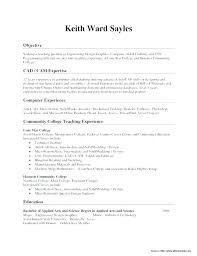 Oil Field Resume Samples Template Sample Industrial Technology