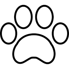 bulldog paw print outline. Interesting Print Paw Print Outline Free Icon On Bulldog Print Outline