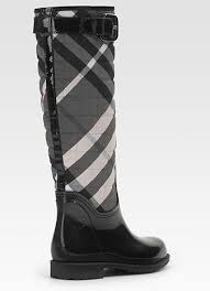 Burberry Quilted Patent Rain Boots - My Color Fashion & Burberry Quilted Patent Rain Boots Adamdwight.com