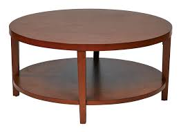 office star merge 36 round coffee table 4 wood finish options