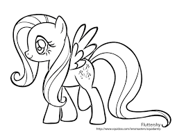 My Little Pony Coloring Pages Young