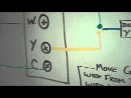venstar add a wire installation diagram on whiteboard youtube venstar t1700 battery replacement at Venstar Thermostat Wiring Diagram