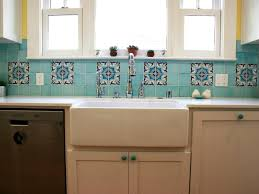 Good Kitchen Good Kitchen With White Apron Sink And Ceramic Tile Backsplash