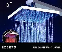 shower light led shower rain shower shower light fixture home depot shower light