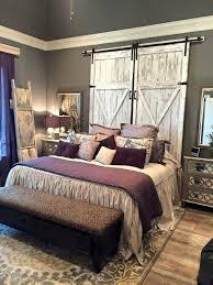 Fanciful Wooden Ladder Purple Grey Bedroom Furniture Barn Door In Designs  10 ...