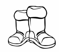 Small Picture Boots Winter Clothes Coloring Page Coloring Pages For Kids