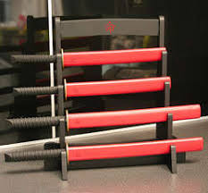 samurai warrior knives the samurai kitchen knife set is perfect for fiercely slicing and dicing