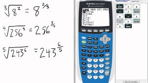 fractional exponents calculator 3 ti 84 calculator fractional exponents