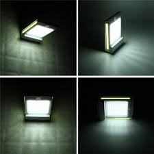 Zonne Energie 106 Led Bewegingssensor Tuin Beveiliging Lamp Buiten Waterdichte Wandlamp