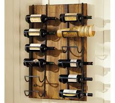 Creative of Wine Shelves For Wall Riddling Wood Wine Rack Ebay