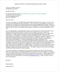 Free Sample Of A Cover Letter 10 Job Application Letter For Internship Free Sample Example