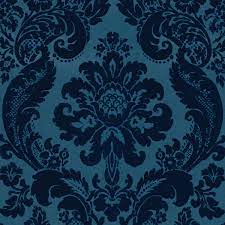 2763-87310 - Damask Blue Shadow - by A ...