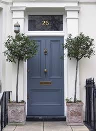 Slate Navy Blue Front Door | Design Ideas & Decor : Beautiful ...