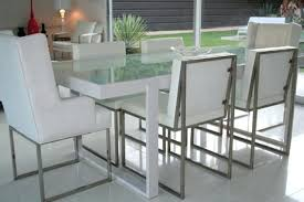 dining tables frosted glass dining table white metal and tables uk