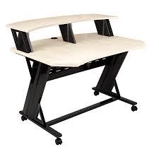 46 studio desk maple stld46 studio trends