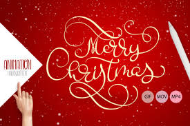 The masking is a little rough but you get the idea :p. Animation Hand Drawn Merry Christmas Graphic By Happy Letters Creative Fabrica