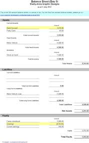 basic balance sheet balance sheet simple coles thecolossus co