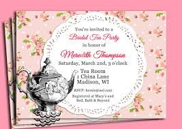 Tea Invitations Printable Printable Tea Party Invitations Shared By Simeon Scalsys