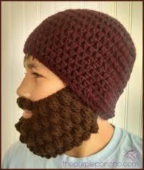 Beard Hat Crochet Pattern Interesting Crochet Bobble Beard Review Free Pattern The Purple Poncho