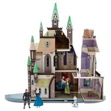 Disney store set da gioco castello frozen il regno di ghiaccio