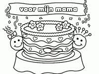 Kleurplaat Verjaardag Mama Tropicalweather