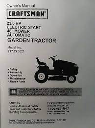 sears craftsman gt garden tractor