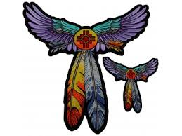 Eagle Feather Dream Catcher Cool Eagle Dream Catcher Patch Native American Indian TheCheapPlace