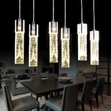 led pendant lights whole tower pattern crystal led pendant lighting