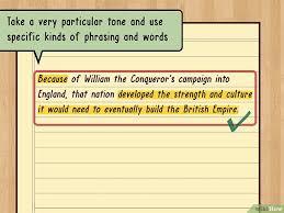 Как написать тезисы wikihow Изображение с названием write a thesis statement step 7