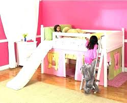 bunk bed with slide and tent. Donco Kids Twin Loft Tent Bed With Slide Full Size Of Interior Luxury . Bunk And D