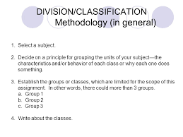 DIVISION CLASSIFICATION DEFINITIONS Divide     to take a single unit     CLASSIFICATION Writing the Classification Essay  shoppers