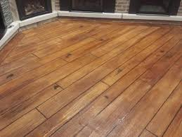 Concrete Wood Floors Rochester Hills Faux Concrete Wood Contractor Gallery