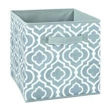 inch fabric storage cubes drawers cube bins closetmaid organizer