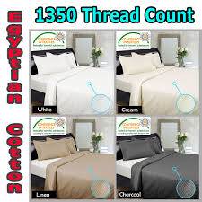 1350tc quilt cover set sheet set by kingdom
