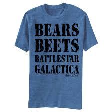 the office merchandise. The Office Bears Beets Battlestar Galactica Tshirt Merchandise T