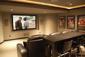 Home Theater Room Decor Home Theater Traditional With Accoustic - Home theatre interiors