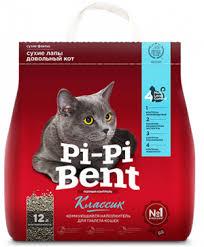 <b>Наполнитель</b> для туалета кошек <b>Pi Pi Bent</b>