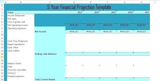 Forecasting Spreadsheet Project Forecasting Template