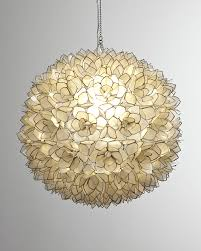 neiman marcus capiz shell 1 light pendant neiman marcus with regard to capiz shell pendant light