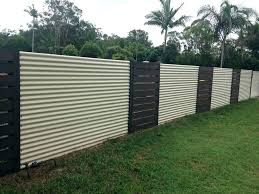 corrugated metal fence panels wood and create a very eye with for corrugate