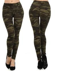 <b>New</b> Army <b>Camouflage Camo Hot Sexy</b> Leggings Womens High ...