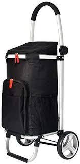 Nuokix Shopping Cart <b>Folding</b> Portable Shopping Cart Climbing ...