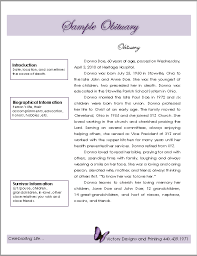 sample of obituary 21 free obituary templates samples and guides templatehub
