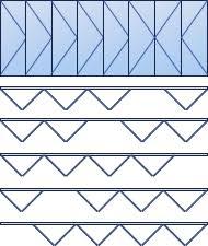 eight leaf bi fold window configuration options