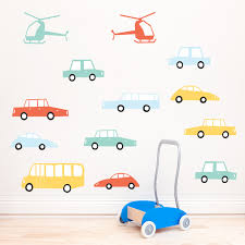 little cars wall stickers