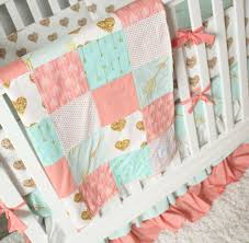 full size of bed pink and teal crib bedding crib gold bedding girl and hearts