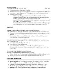 Gallery of: Insurance Defense Attorney Resume Sample